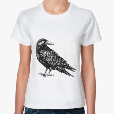 Классическая футболка Ворон