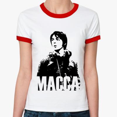 Женская футболка Ringer-T Paul Macca