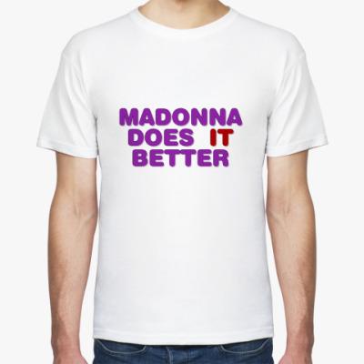Футболка Madonna