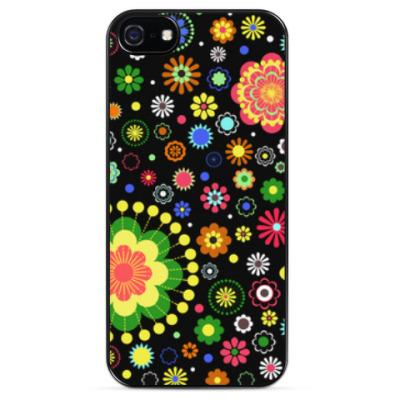 Чехол для iPhone Цветочный узор