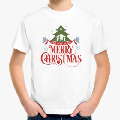 Детская футболка Рождество. Новый год.