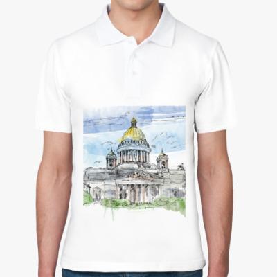 Рубашка поло Исаакиевский собор . Питер