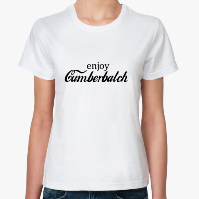 Классическая футболка Cumberbatch