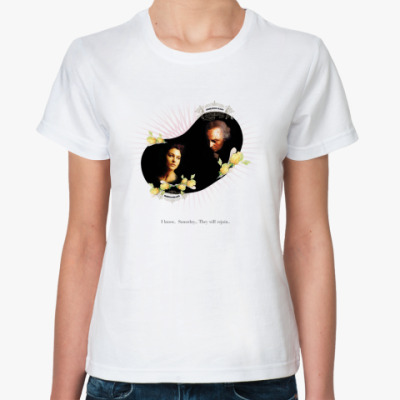 Классическая футболка Моника Беллуччи
