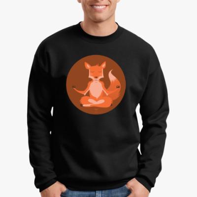Свитшот  Animal Zen: F is for Fox