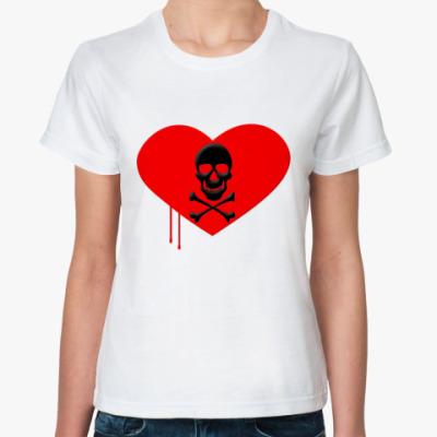 Классическая футболка Love and Death