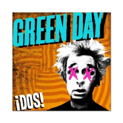 Наклейка (стикер) Green Day !DOS!