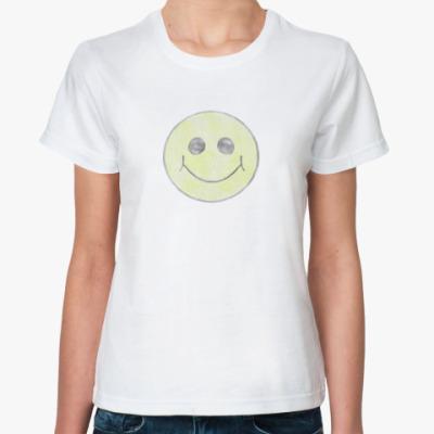 Классическая футболка   Хаус Смайл