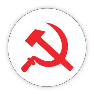 Костер (подставка под кружку) Серп и молот - СССР