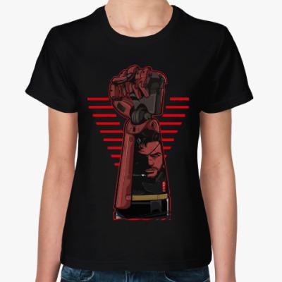 Женская футболка Метал Гир