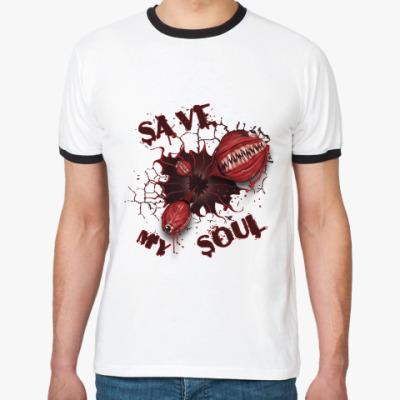 Футболка Ringer-T Спасите мою душу