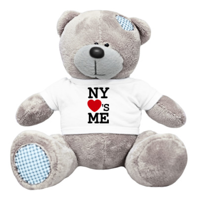 Плюшевый мишка Тедди NY Loves Me