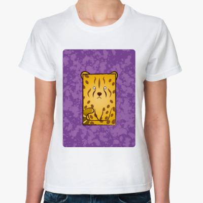 Классическая футболка Wild Animal Leo
