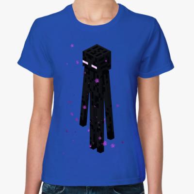 Женская футболка Enderman Moving Co.