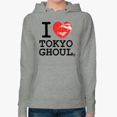 Женская толстовка худи Tokyo Ghoul