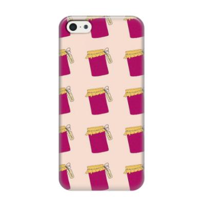 Чехол для iPhone 5/5s Малиновый джем