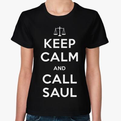 Женская футболка Better Call Saul