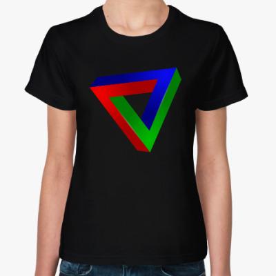 Женская футболка Треугольник Пенроуза