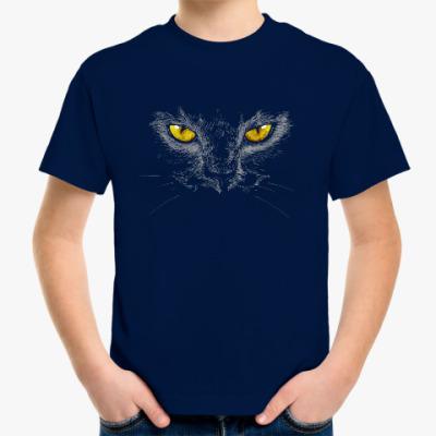 Детская футболка Кот