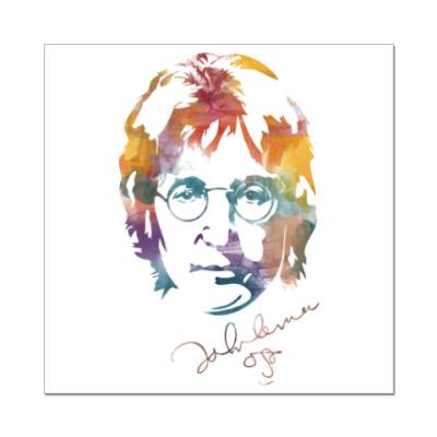 Наклейка (стикер) The Beatles - John Lennon