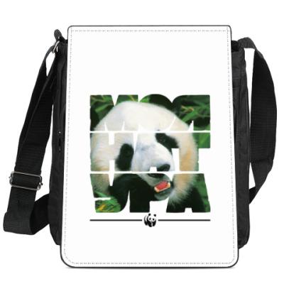 Сумка-планшет WWF. Моя натура - Панда!