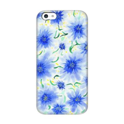Чехол для iPhone 5c цветы