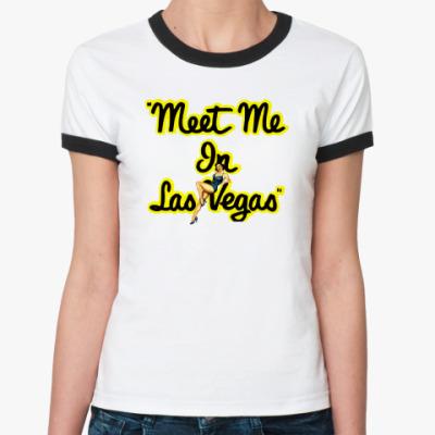 Женская футболка Ringer-T T-shirt VEGAS (жен.)