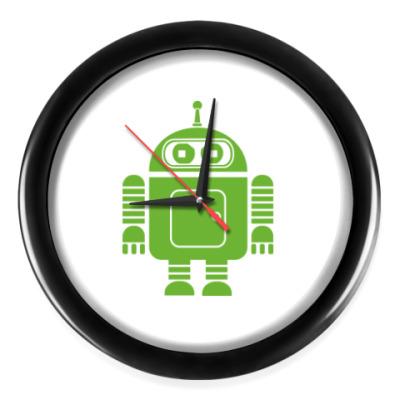 Настенные часы Андроид бендер