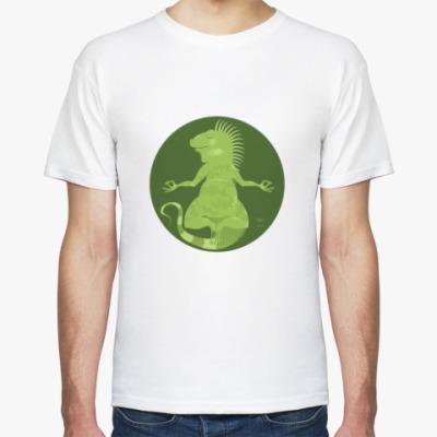Футболка Animal Zen: I is for Iguana