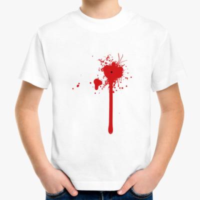 Детская футболка Blood Splash