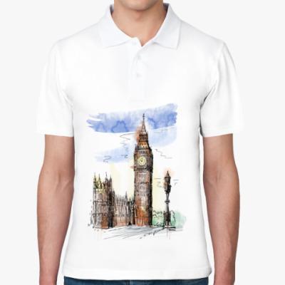 Рубашка поло Биг-Бен - Big Ben - Англия - Лондон