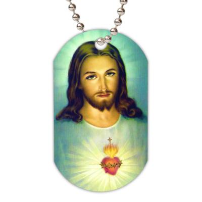 Жетон dog-tag Иисус