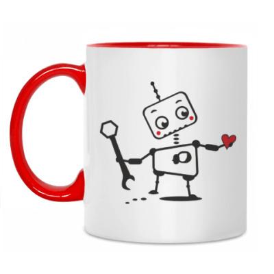 Кружка Влюбленные роботы