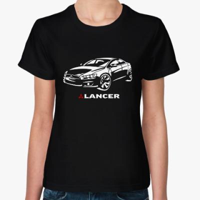 Женская футболка Lancer