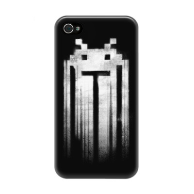 Чехол для iPhone 4/4s Space Invaders Punisher