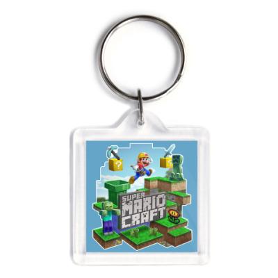 Брелок Super Mario Craft