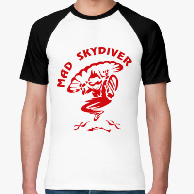 Футболка реглан MAD SKYDIVER