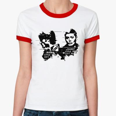 Женская футболка Ringer-T Supernatural order