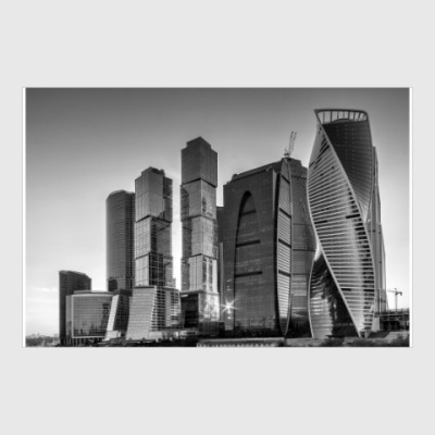 Постер Москва-Сити