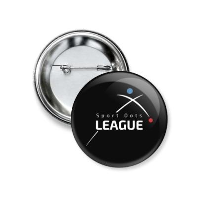 Значок 37мм Лига Спортивных Точек