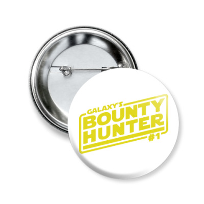 Значок 50мм Bounty Hunter