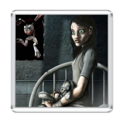 Магнит Алиса в стране чудес