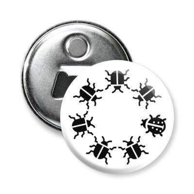 Магнит-открывашка Другой жук