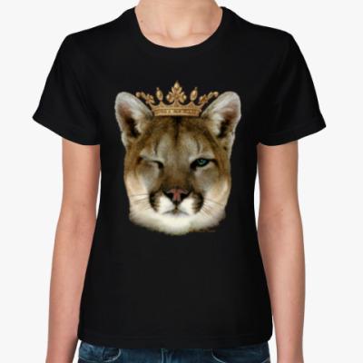 Женская футболка Пума