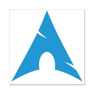 Наклейка (стикер) Arch Linux