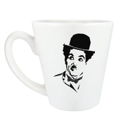 Чашка Латте Чарли Чаплин