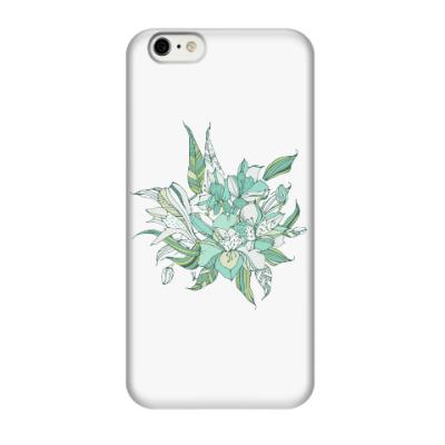 Чехол для iPhone 6/6s Букет лилий