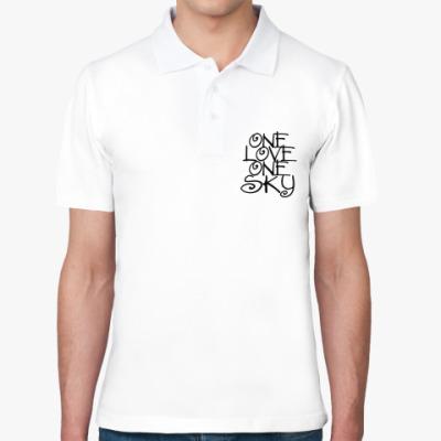 Рубашка поло ONE love, ONE sky
