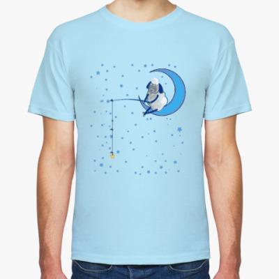 Футболка Барашек на луне