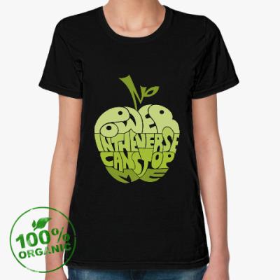 Женская футболка из органик-хлопка Power In The Verse